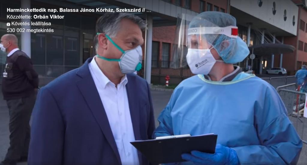 Orbán besucht Krankenhaus in Szekszárd post's picture