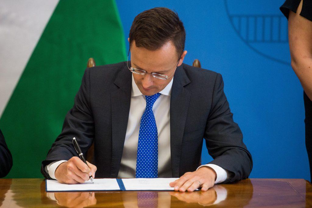 """Szijjártó an 5 nordische Außenminister: """"Sie haben Falschnachrichten über Ungarn verbreitet, nicht die Wahrheit gesagt"""""""