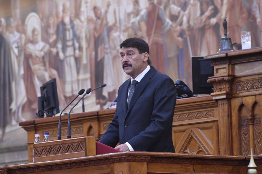 Präsident Áder: 30 Jahre ohne Kommunismus