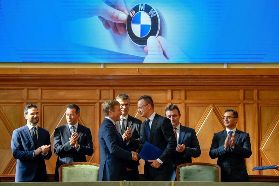 BMW verschiebt die Eröffnung des ungarischen Werks um ein Jahr