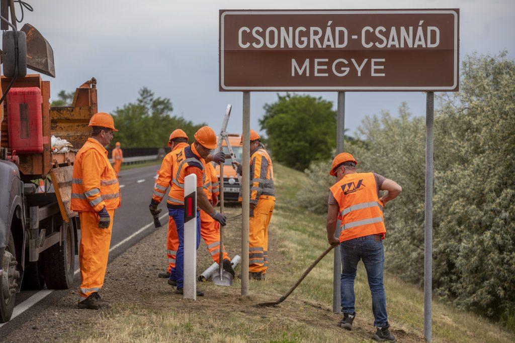 Trianon 100: Komitat Csongrád in Csongrád-Csanád umbenannt