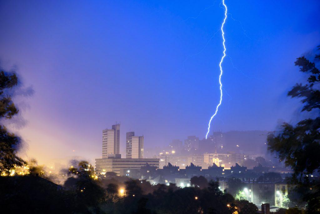 Heftige Gewitter ziehen über Ungarn
