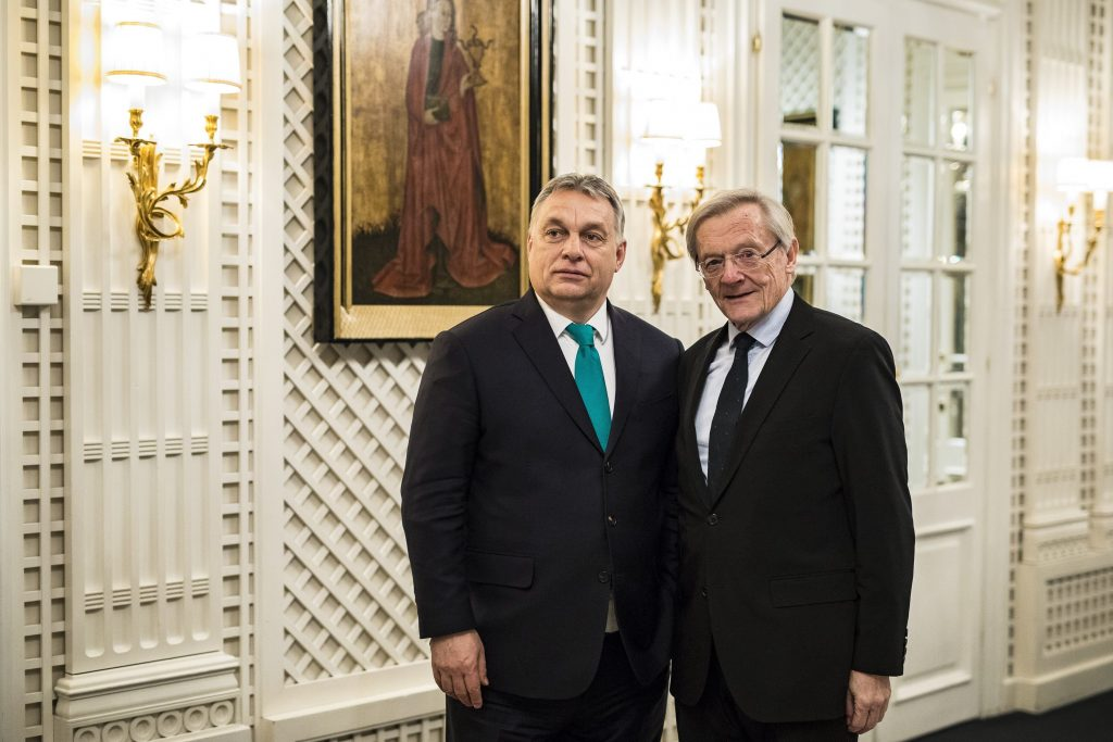 Arbeit des EVP-Weisenrats zu Ungarn abgebrochen, Schüssel ist enttäuscht