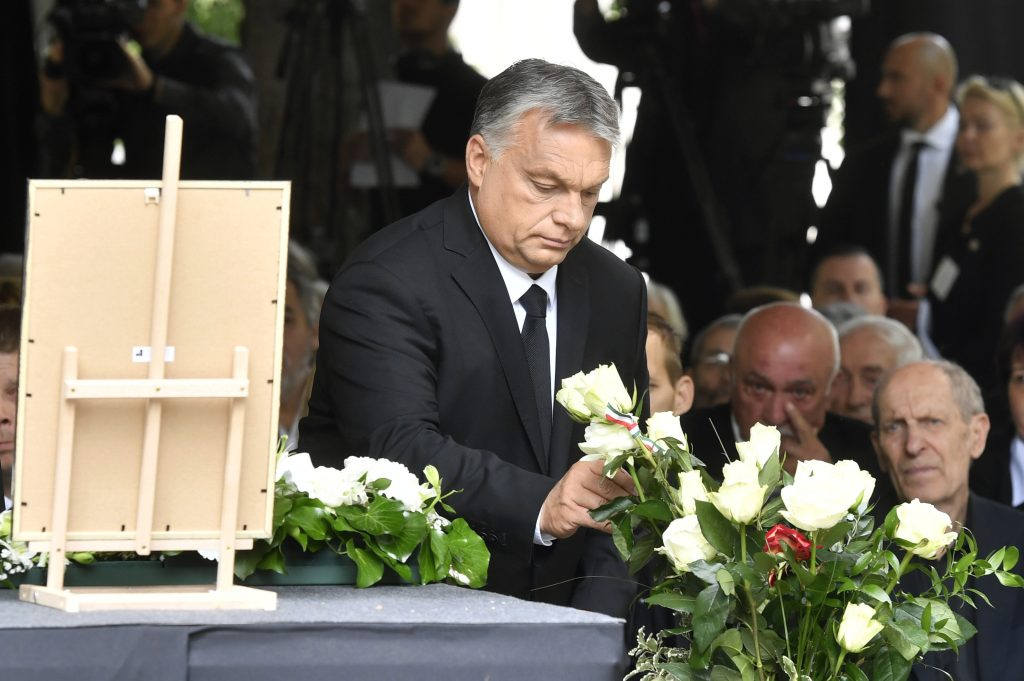 """Orbán bei der Beerdigung von György Fekete: """"Die ungarische Kultur ist eine haltende Kraft, ohne die man nicht überleben kann"""" post's picture"""