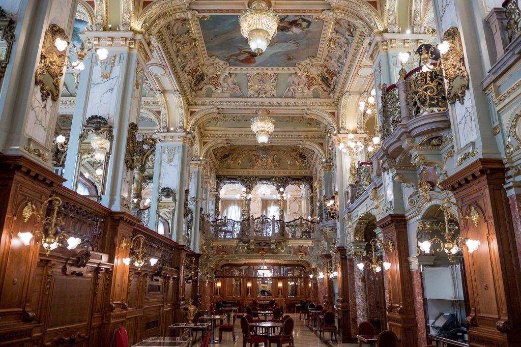 Historische Cafés von Budapest