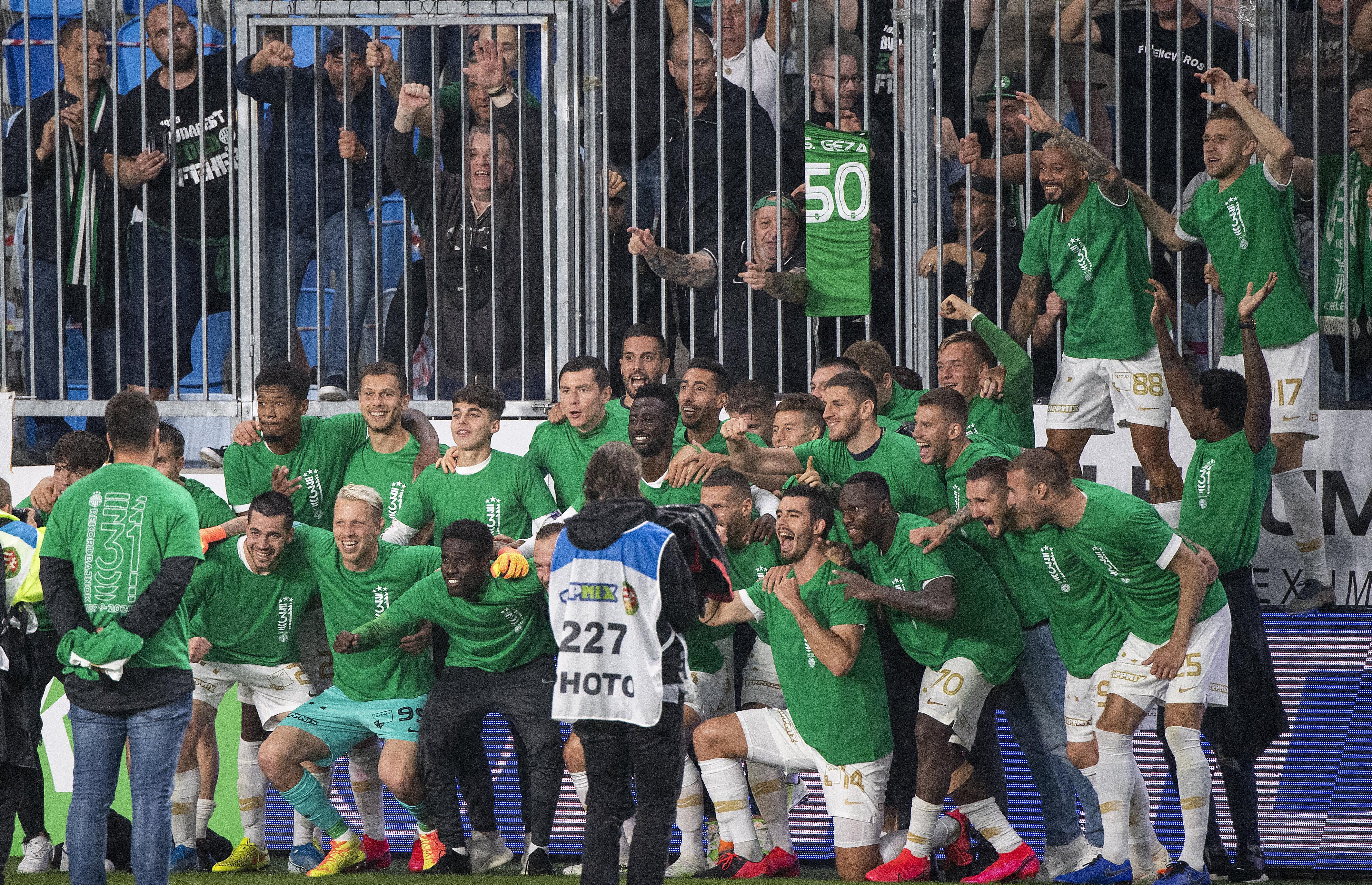 """Fußball – """"Fradi"""" gewinnt den Meistertitel post's picture"""