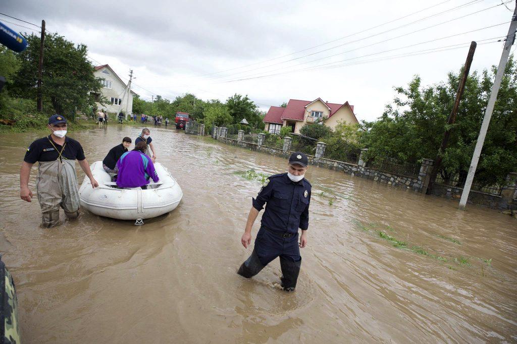 Hochwasser in der Ukraine: Ungarn bietet Hilfe an