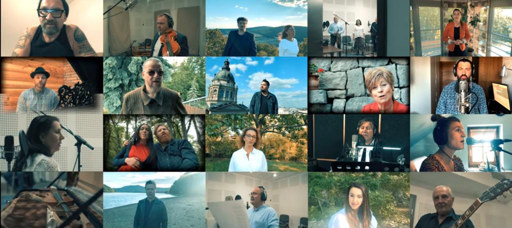 Premiere: Lied der nationalen Zusammengehörigkeit