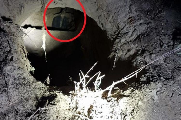 Polizei entdeckt Tunnel unter Grenzzaun