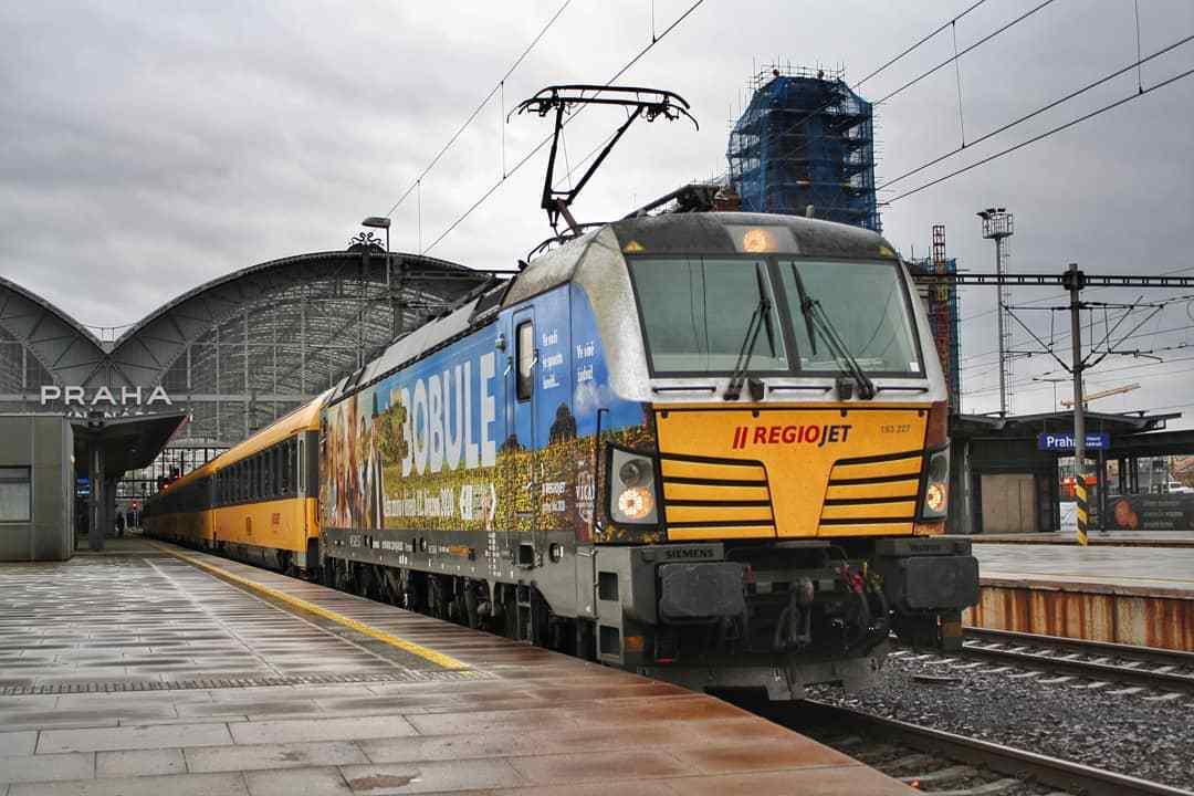 RegioJet startet Linie Budapest-Wien-Brno-Prag post's picture
