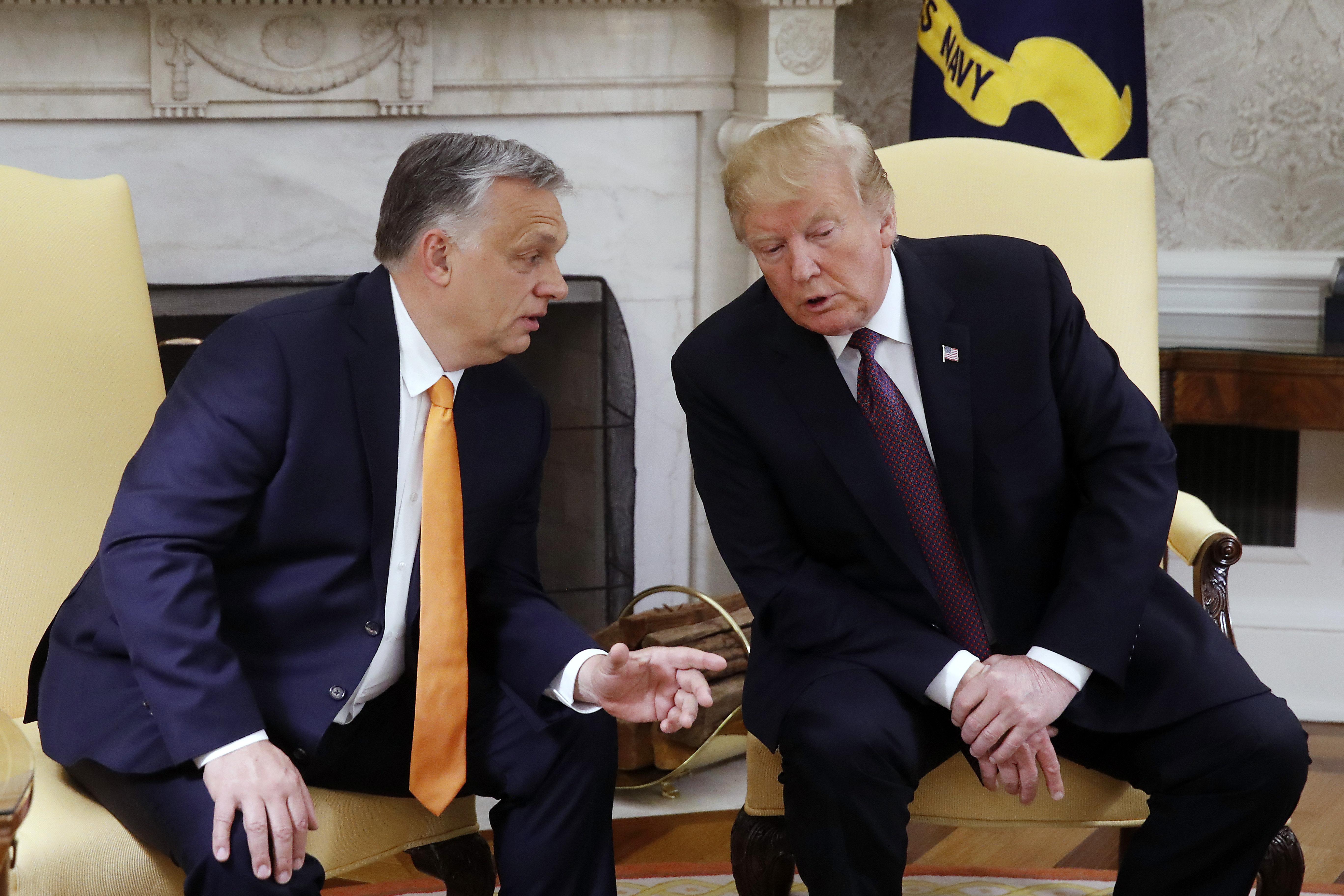 Orbán begrüßt Trump an dem Unabhängigkeitstag der USA post's picture