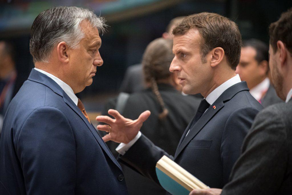 """Orbán an Macron: """"Frankreich kann im Geiste gegenseitigen Respekts auf die Ungarn zählen"""""""