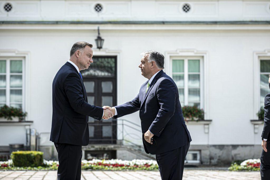 Orbán gratuliert dem polnischen Präsidenten zur Wiederwahl