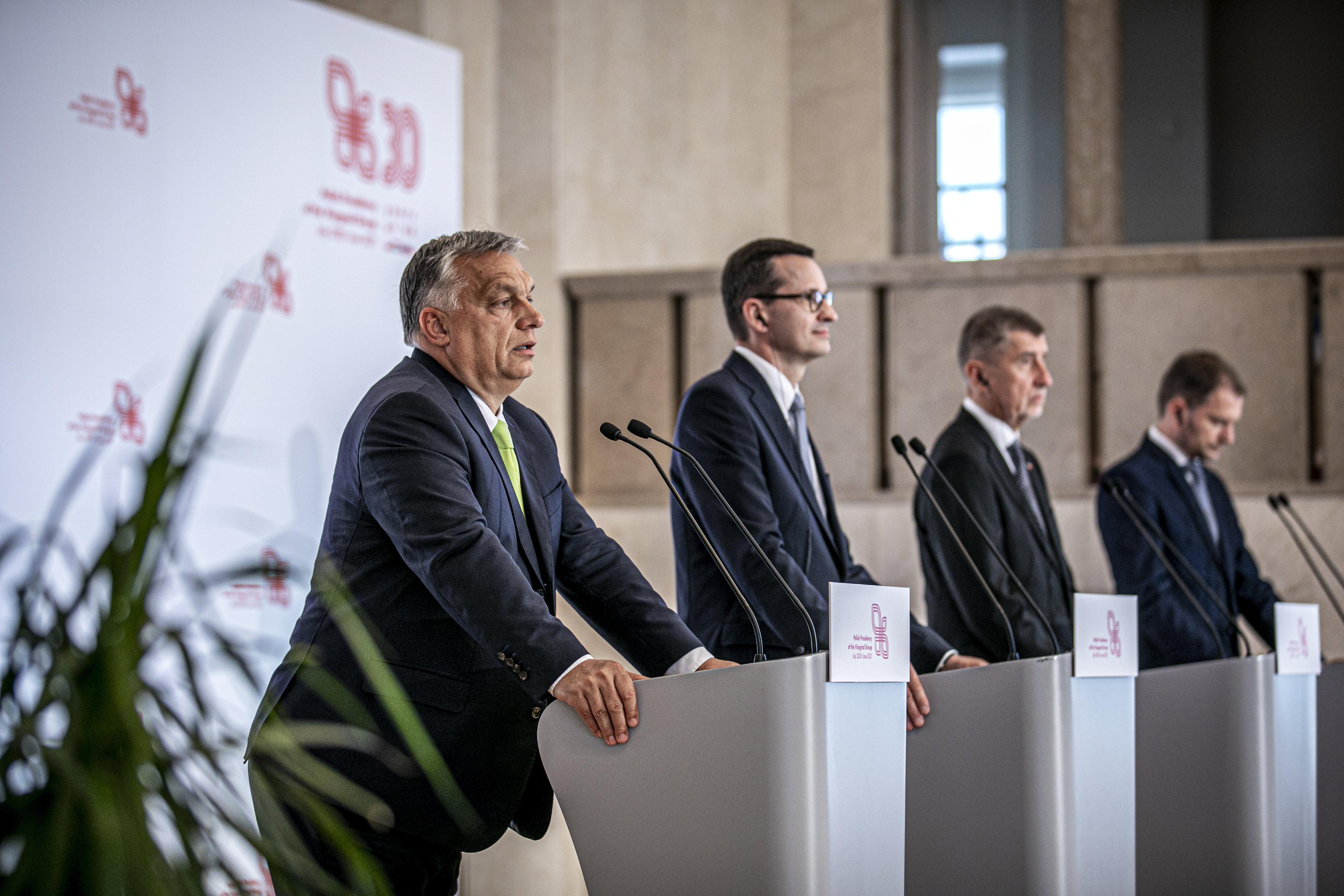 """Orbán: Die Visegrád Gruppe schließt ein """"gutes Jahr"""" ab post's picture"""