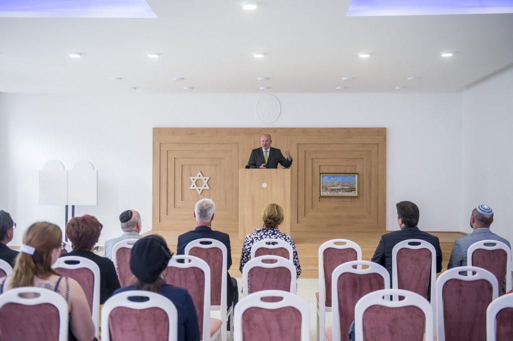 Budapost: Synagogenneubau in Kecskemét eingeweiht