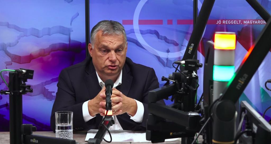 """Premier Orbán: """"Ungarische Krankenhäuser dürften Mitte Dezember an ihre Kapazitätsgrenze stoßen"""""""