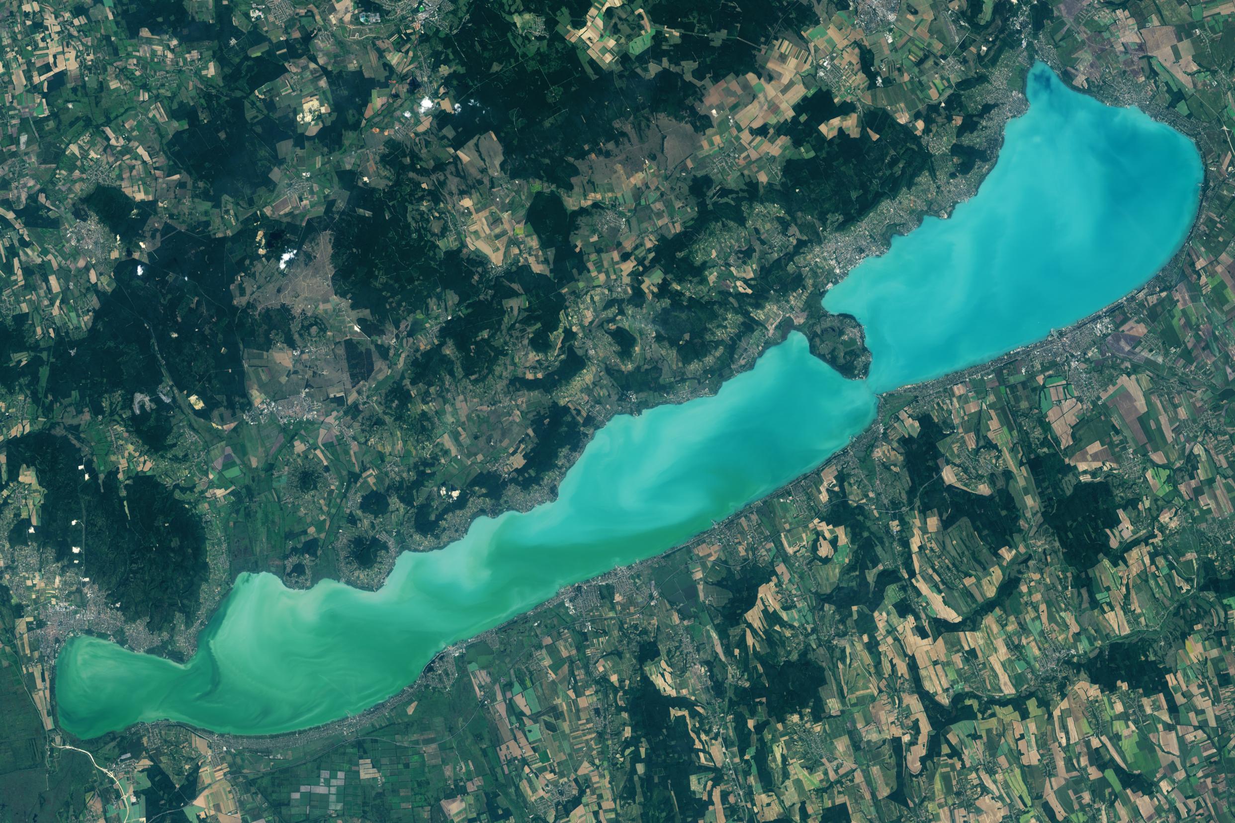 NASA & Stanford University: Wasserqualität des Plattensees verbessert sich ständig post's picture