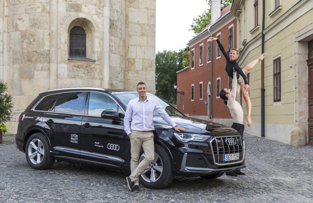 Neuer Direktor des Győrer Balletts fährt Auto mit vier Ringen post's picture