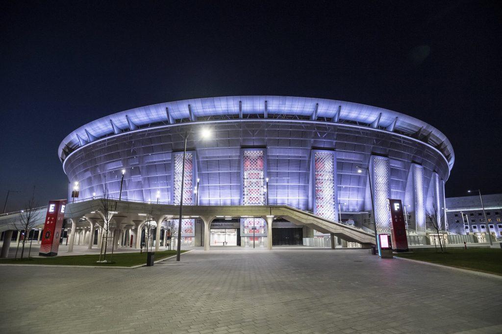 UEFA Super Cup 2020 in Budapest mit Zuschauer