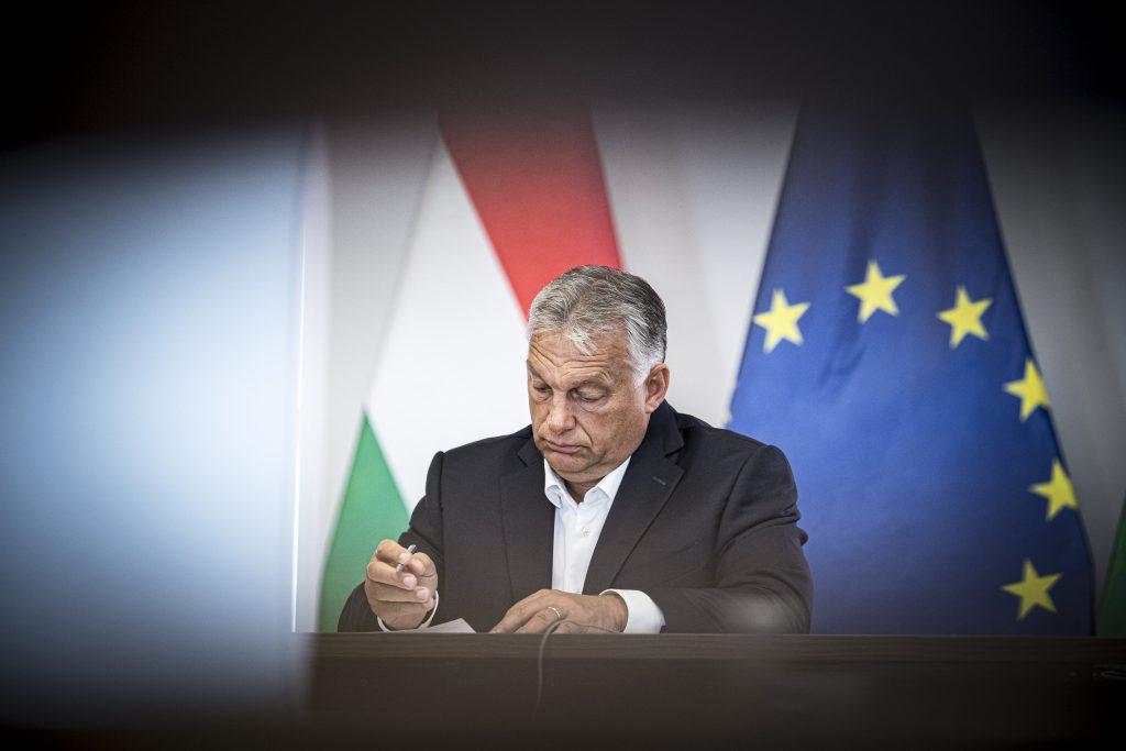 Viktor Orbán in Slowenien
