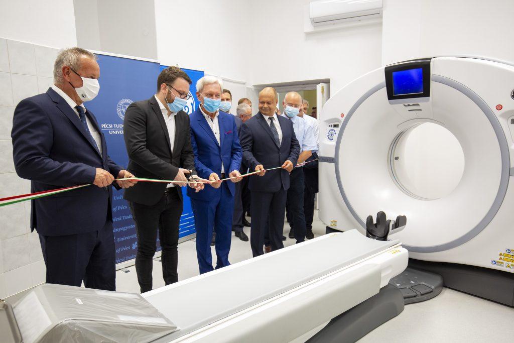 Coronavirus: Universitätsklinik Pécs erhält ein neues CT-Gerät zur Erkennung von Lungenschäden