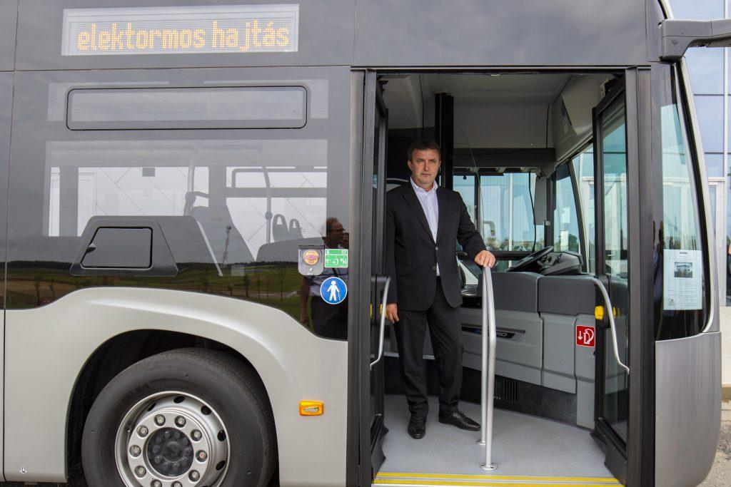 Green Bus-Programm zur Unterstützung der Städte beim Elektrotransport