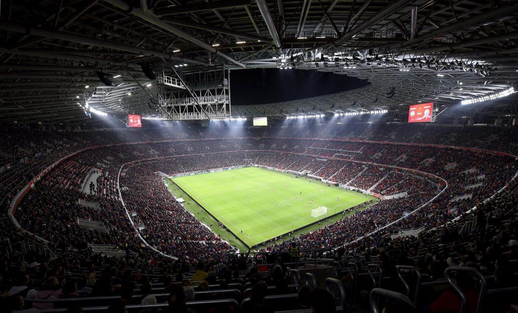 "24. September: Bayern spielt in der Budapester ""Puskás Aréna""!"