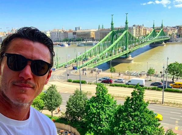 Hollywood-Schauspieler würdigt die Schönheit von Budapest post's picture