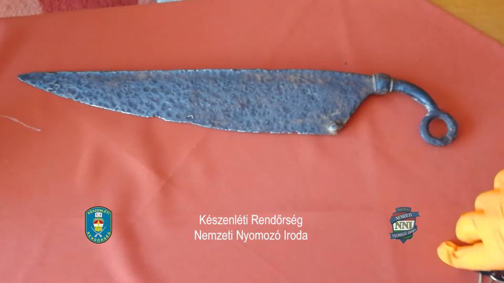 1000 Jahre altes keltisches Messer in der Garderobe gefunden