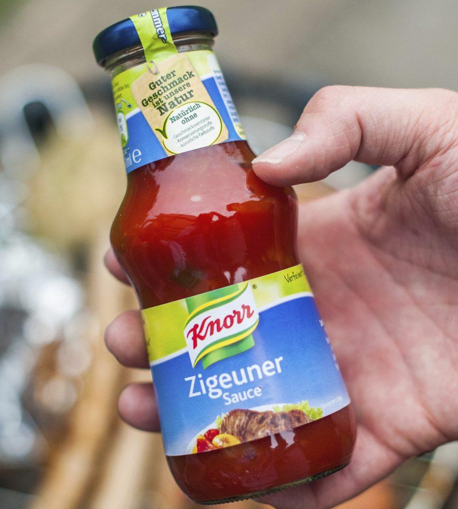 """Rassismus-Diskussion: Knorr benennt """"Zigeunersauce"""" um' es wird """"Paprikasauce Ungarische Art"""""""