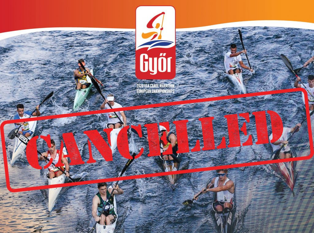 Kanu-Marathon-Europameisterschaften in Győr wegen Corona abgesagt