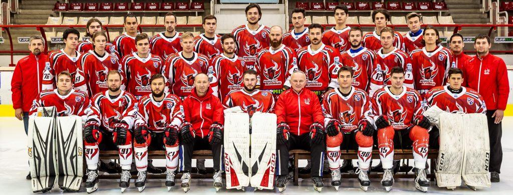 Eishockeyspieler in Dunaújváros positiv auf COVID-19 getestet post's picture