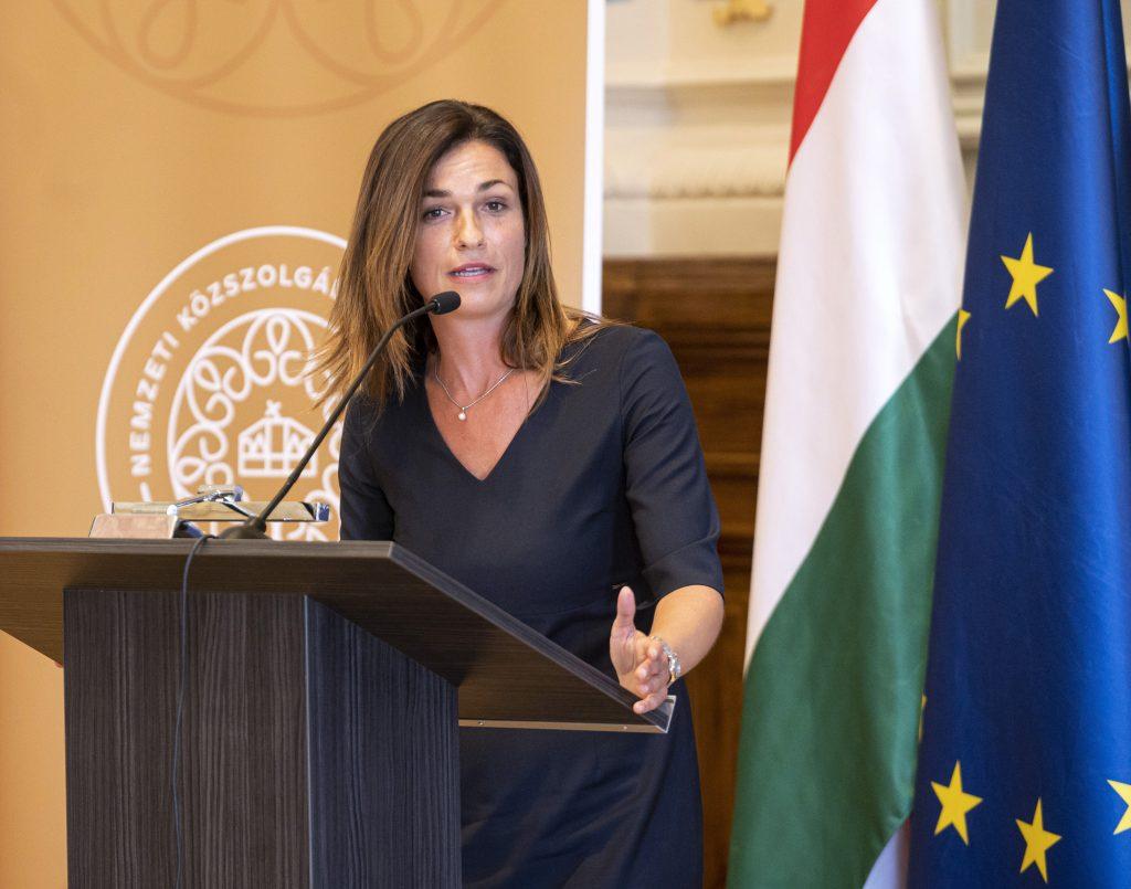 """Justizministerin: """"Rechtsstaatlichkeitsbericht über Ungarn ist absurd und falsch"""""""