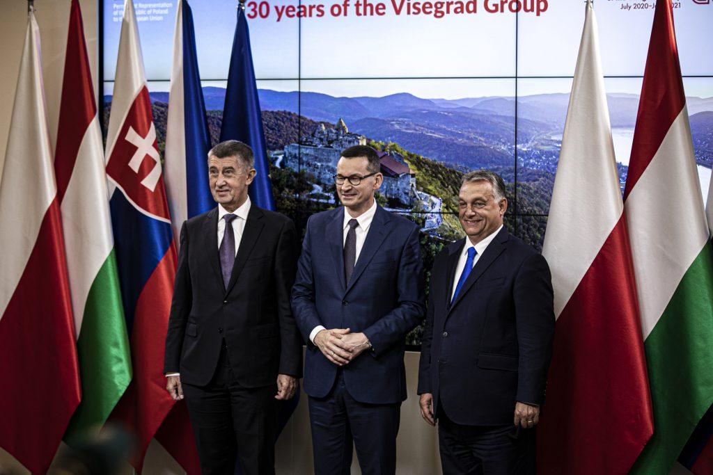 Leiter der Visegrád-Staaten treffen sich von der Leyen