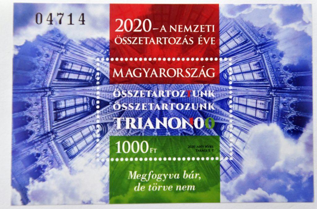 """""""Trianon 100"""" – Briefmarken herausgegeben"""