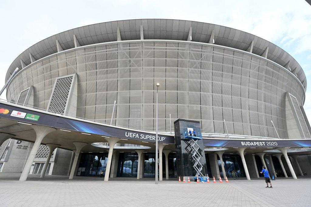 """""""UEFA-Superpokal unter Einhaltung der strengsten Gesundheitsprotokolle"""""""