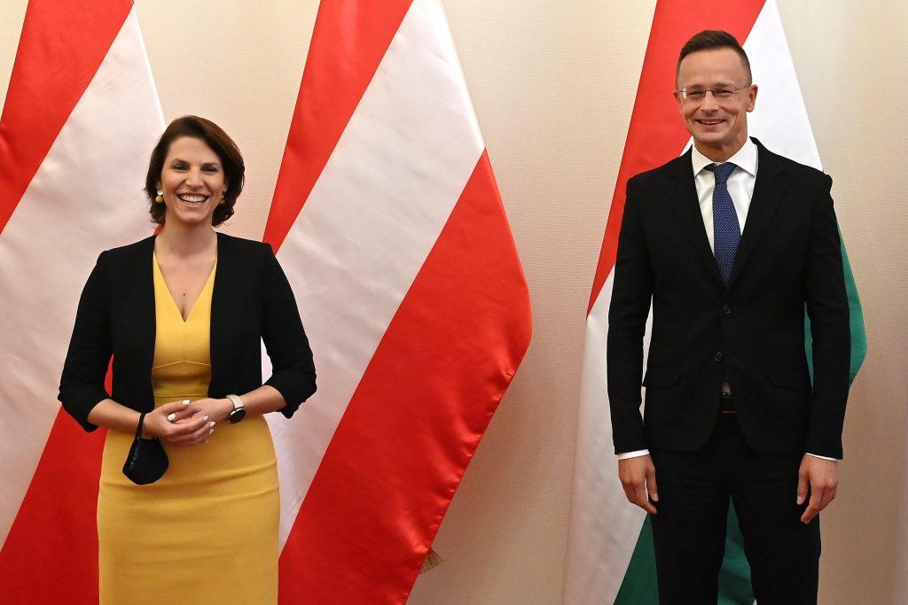 Außenminister: Österreich unter den wichtigsten Verbündeten Ungarns