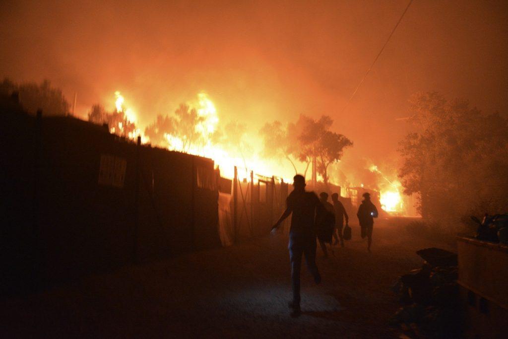 Budapost: Brandstiftung im Lager Moria – Sinnbild der Ohnmacht der EU