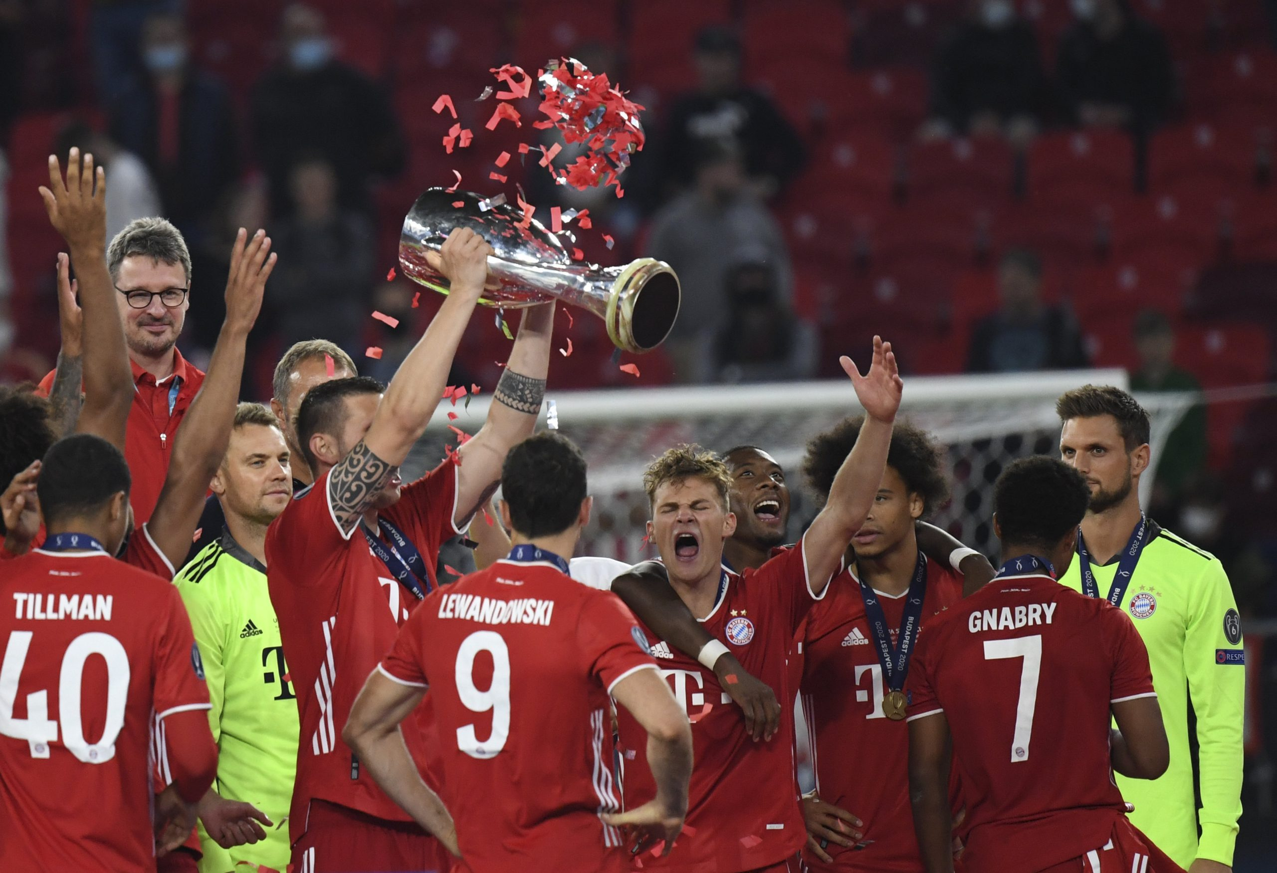 Bayern gewinnt Supercup in Budapest post's picture