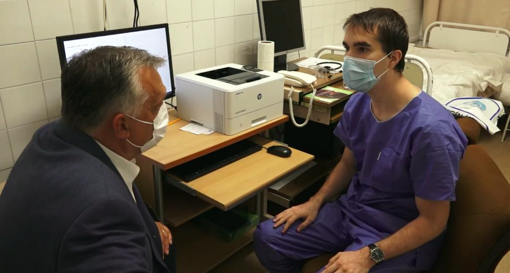 Orbán: Die Bedingungen für die Behandlung von Patienten sind gegeben