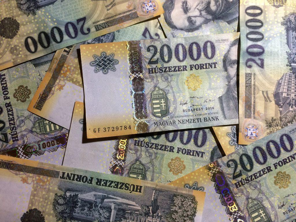 Budapost: Gebeutelter Forint gibt 2020 um zehn Prozent nach