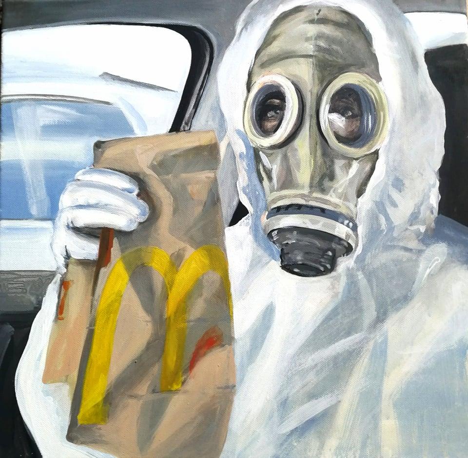 """""""Die Schüler konnten wenigstens für eine kurze Zeit die Schwierigkeiten der Pandemie vergessen"""" – Interview mit der Malerin Anna Bazsik"""