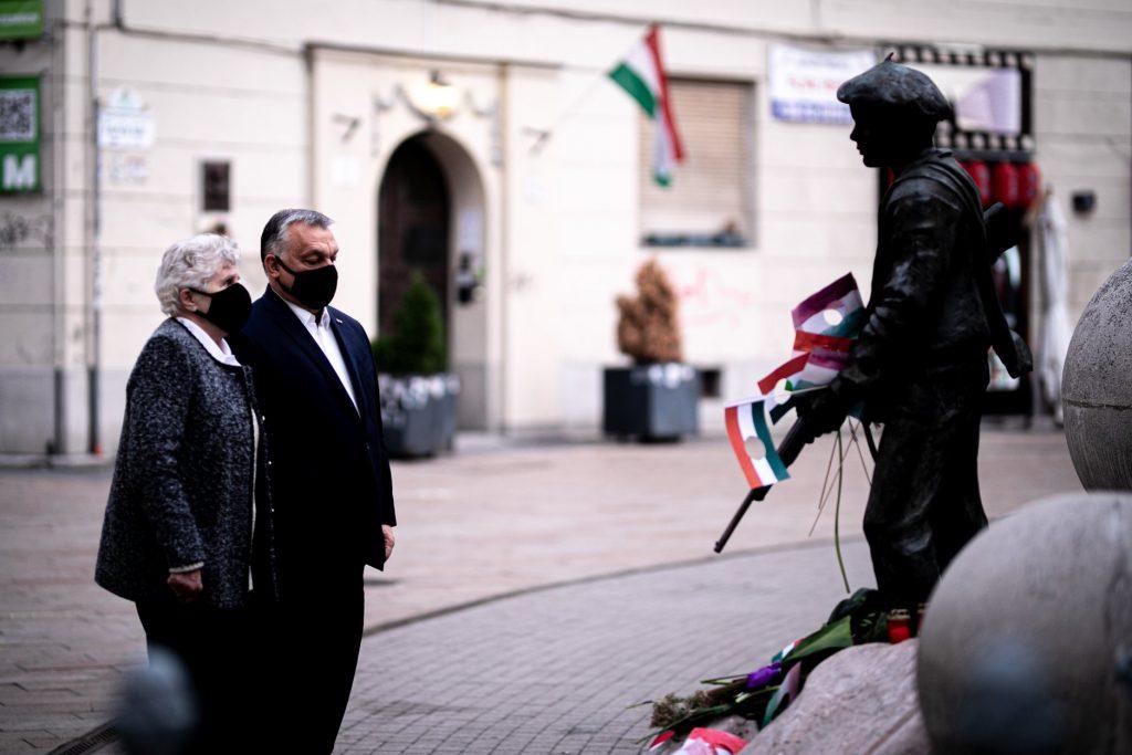 Orbán gedenkt der 1956-er Revolution