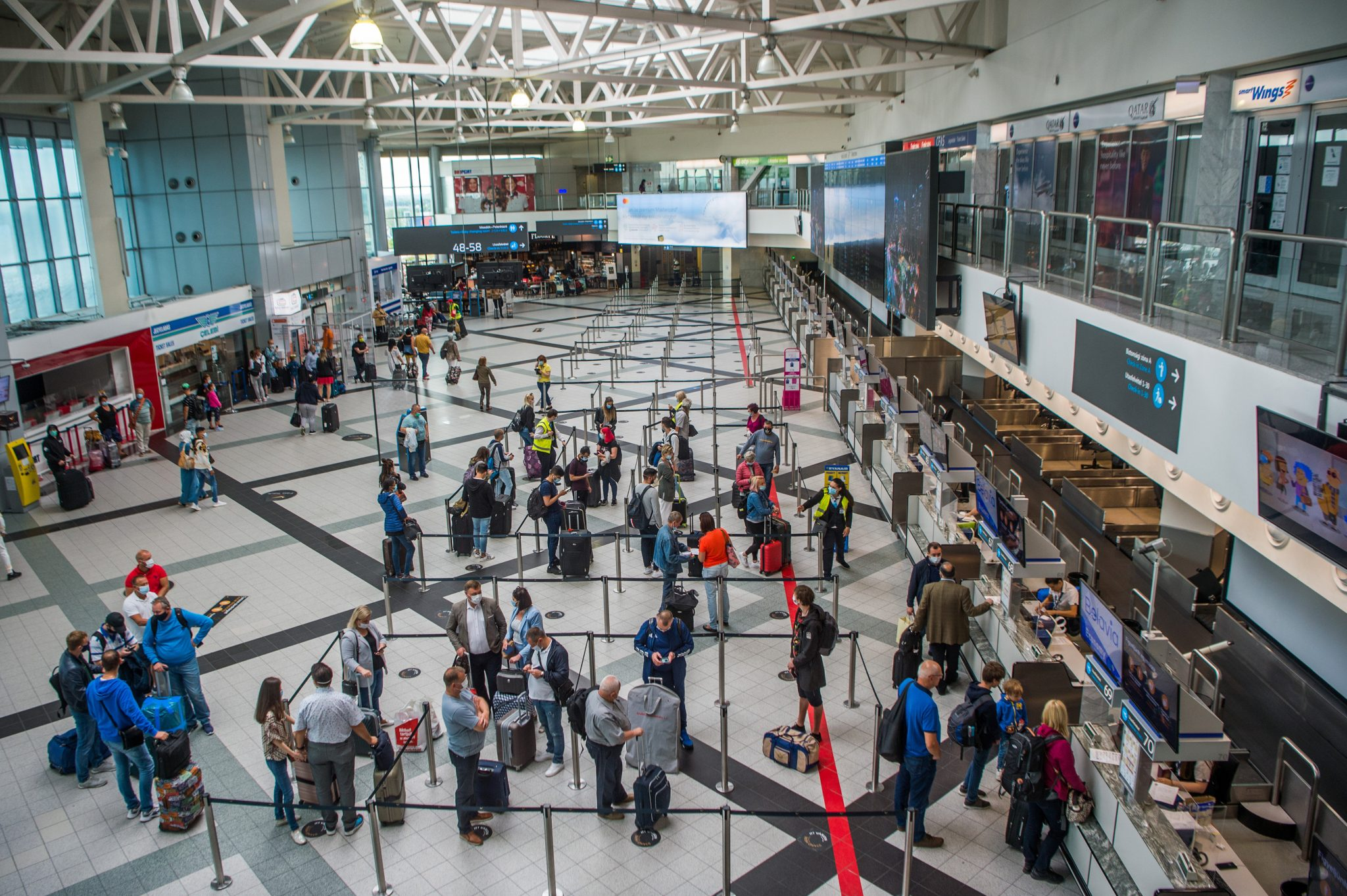 Drittes Terminal am Budapester Flughafen geplant