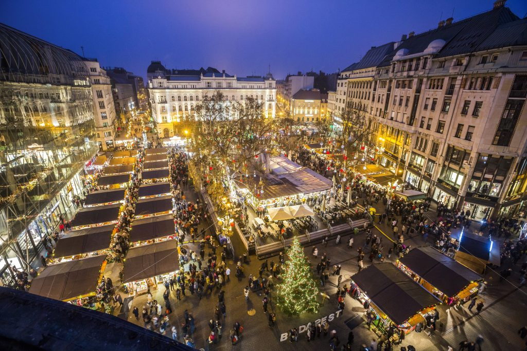 Weihnachtsmarkt in Budapest abgesagt