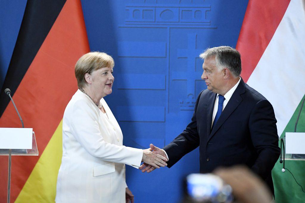 Orbán gedenkt des Tages der Deutschen Einheit
