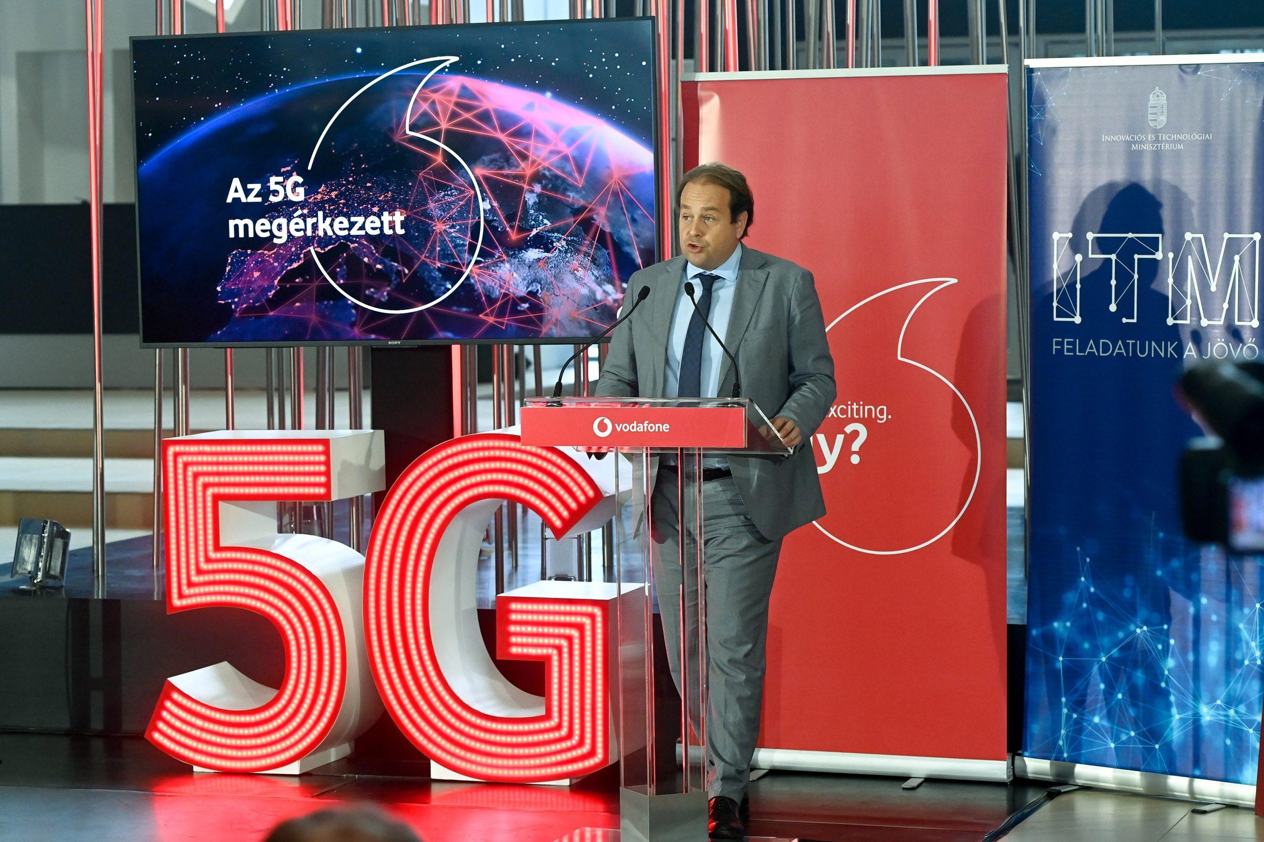 Vodafone erweitert 5G-Netz in Budapest post's picture