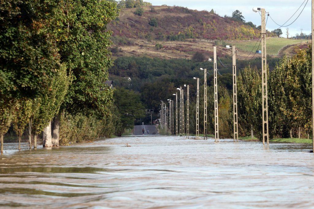 Überschwemmungen im Nordosten