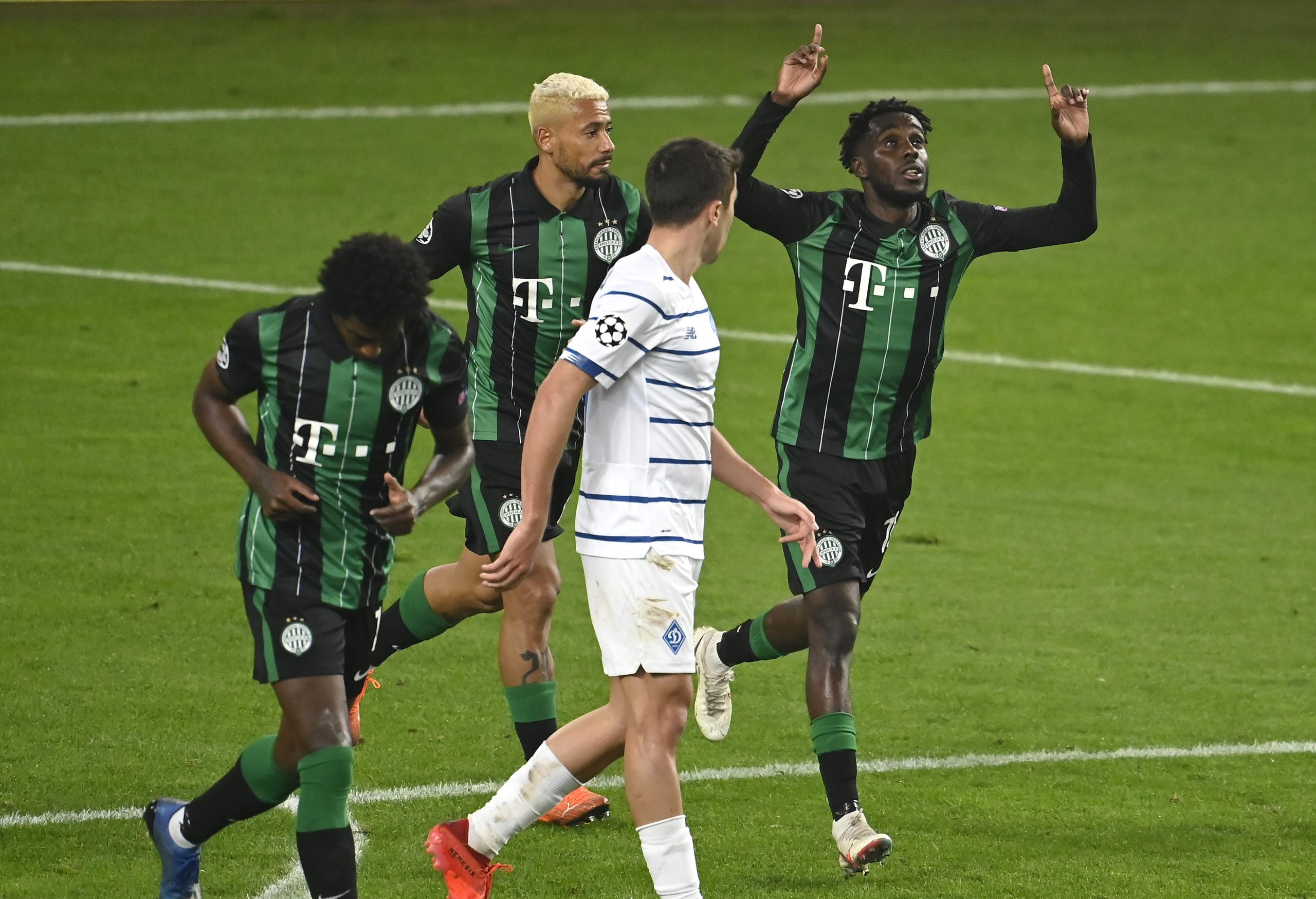 Ferencváros erzielt den ersten Champions League Punkt nach 25 Jahren
