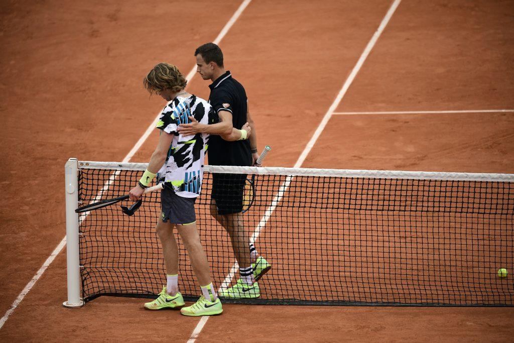 Roland Garros: Fucsovics unterliegt nach großem Kampf Rublev
